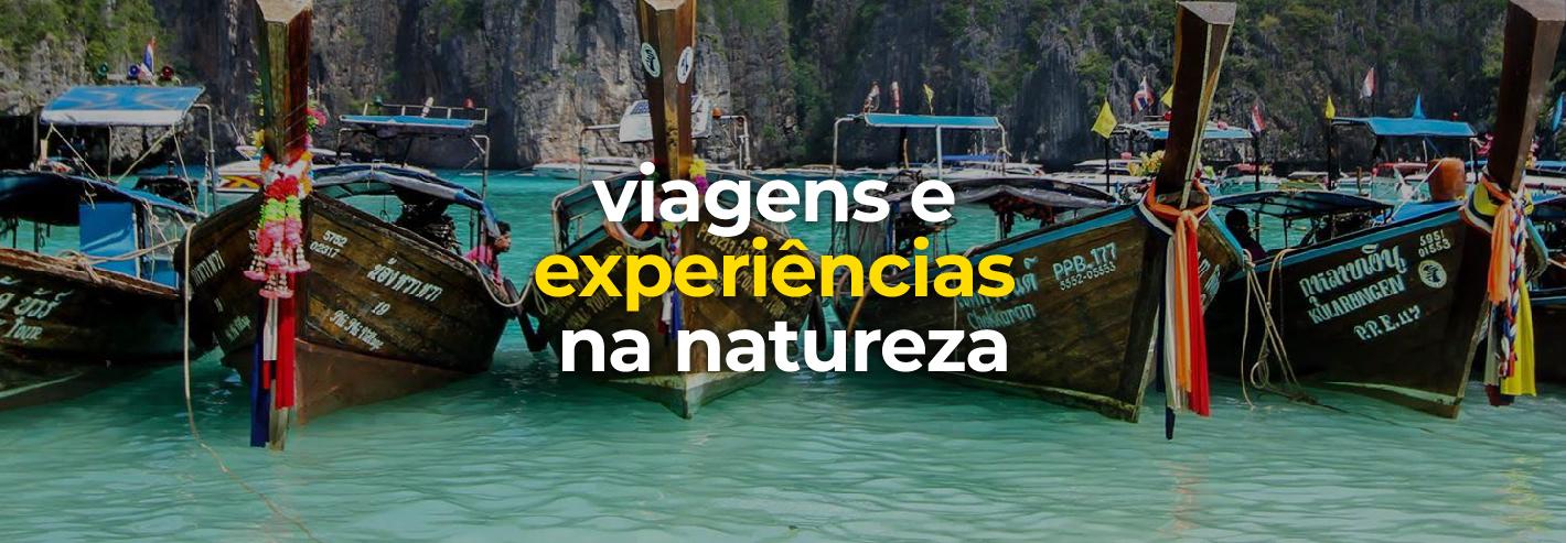 Viagens e experiências na natureza